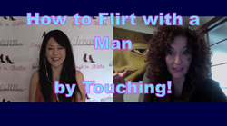 How to flirt with a man by touching