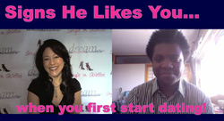How to Tell if a Guy Likes You Video