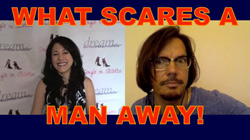 What Scares a Man Away!