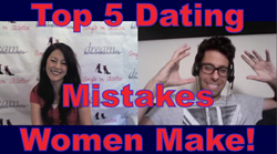 Top 5 Dating Mistakes Women Make