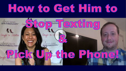 How to get a man to stop texting