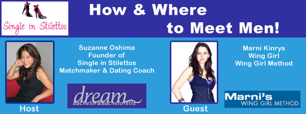 Where to Meet Men & How to Meet Men